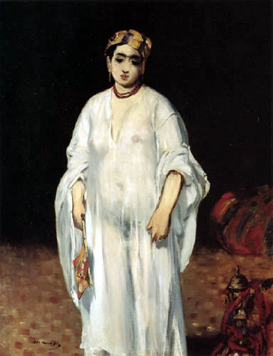 Edouard Manet - Frau im orientalischem Kostüm