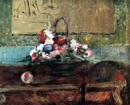 Edouard Manet - Blumenkorb