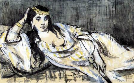 Edouard Manet - Odaliske