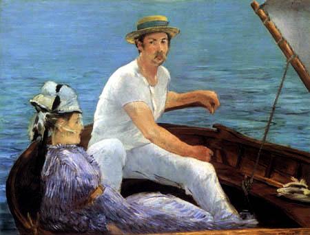 Edouard Manet - Im Boot