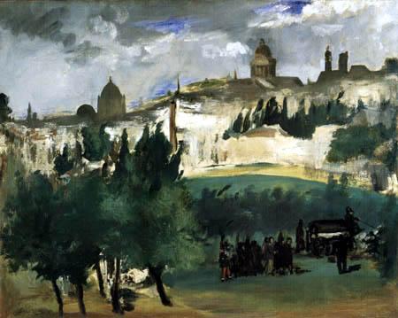 Edouard Manet - Das Begräbnis