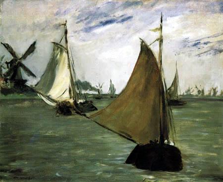 Edouard Manet - Seeansicht Holland