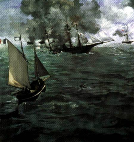 Edouard Manet - Das Seegefecht