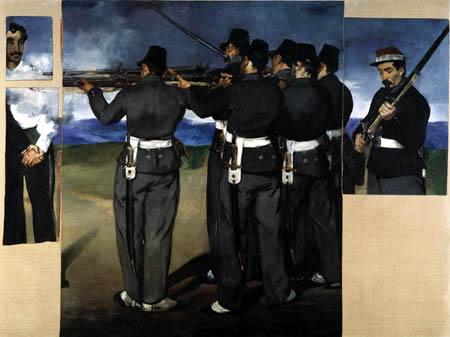 Edouard Manet - Die Erschießung Kaiser Maximilians II