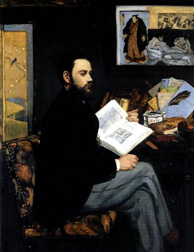 Edouard Manet - Bildnis Emile Zola