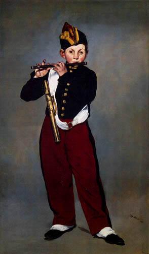 Edouard Manet - Der Pfeifer
