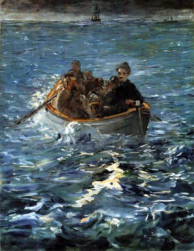 Edouard Manet - Henri Rocheforts Flucht