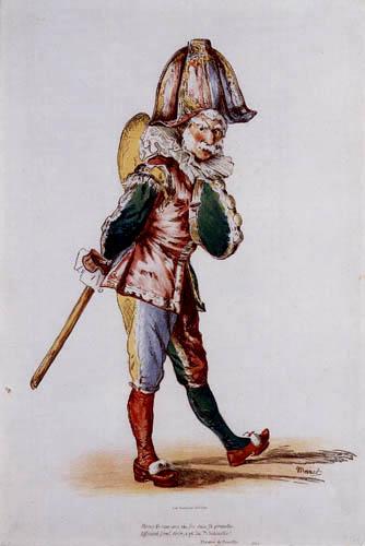Edouard Manet - Le Polichinelle