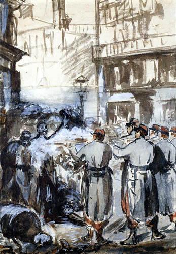 Edouard Manet - Die Barrikade