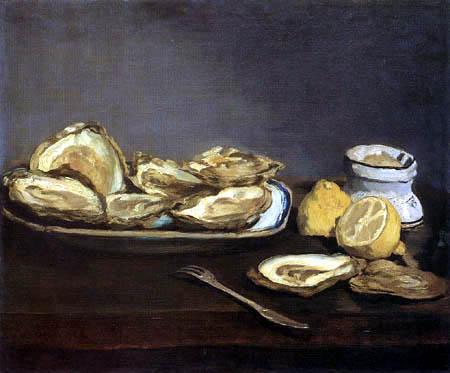 Edouard Manet - Austern