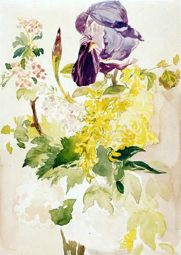 Edouard Manet - Blumenstück