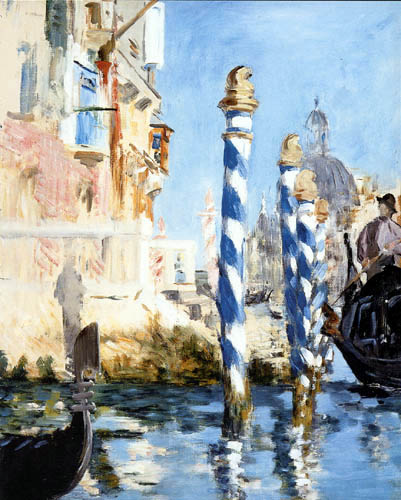 Edouard Manet - Der Canal Grande in Venedig