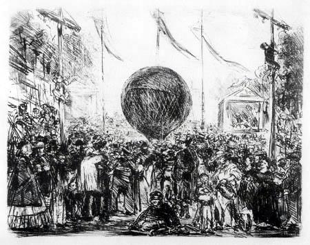 Edouard Manet - Der Ballon