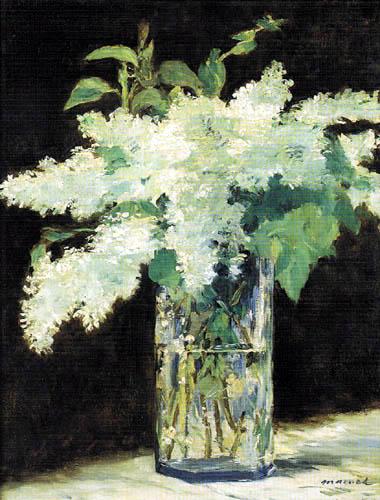 Edouard Manet - Der Fliederstrauss