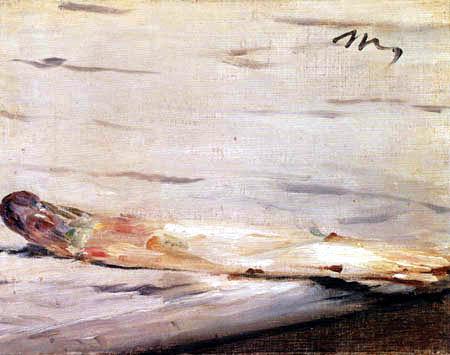 Edouard Manet - Der Spargel