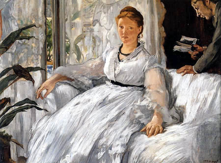 Edouard Manet - Die Lektüre