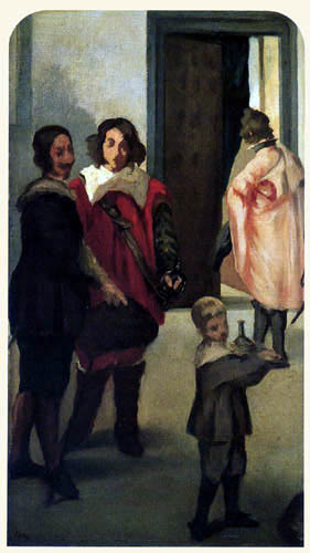 Edouard Manet - Erinnerung an Velasquez