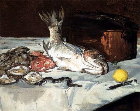 Edouard Manet - Fische