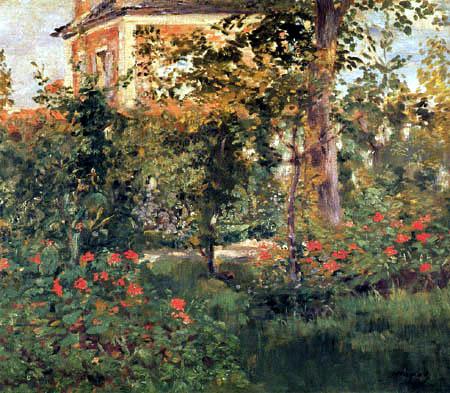 Der Garten der Villa Bellevue - Edouard Manet - | Kunstdruck ...