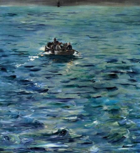Edouard Manet - Die Flucht von Rochefort