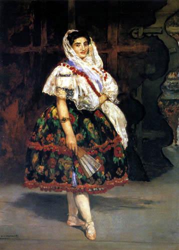 Edouard Manet - Lola aus Valencia