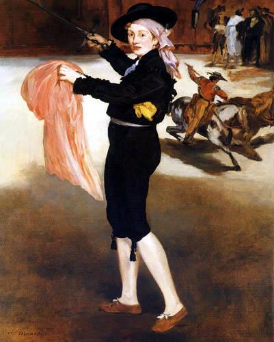 Edouard Manet - Mademoiselle Victorine im Espada-Kostüm