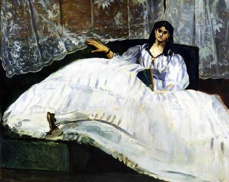 Edouard Manet - Porträt Jeanne Duval