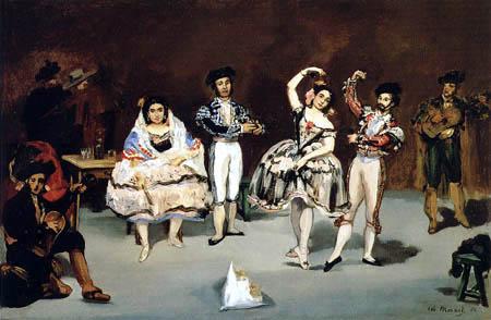 Edouard Manet - Spanisches Ballett