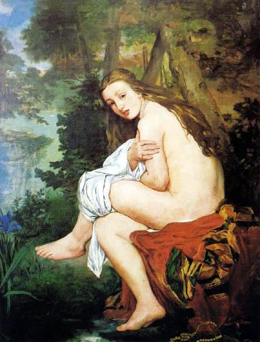 Edouard Manet - Die überraschte Nymphe
