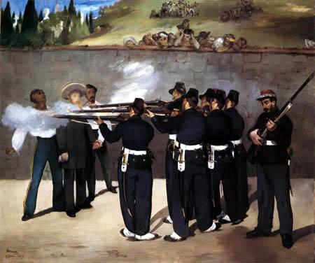 Edouard Manet - Shooting of Emperor Maximilian