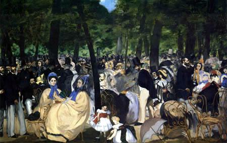 Edouard Manet - Das Konzert im Tuileriengarten