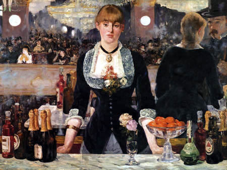 Edouard Manet - Eine Bar in den Folies-Bergère