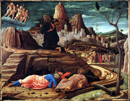 Andrea Mantegna - Christ on the Mount of Olives