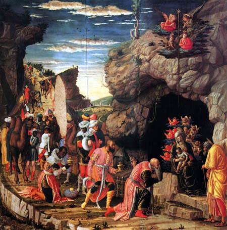 Andrea Mantegna - Adoration of the holy kings