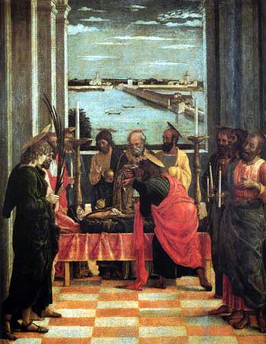 Andrea Mantegna - Tod der Jungfrau Maria