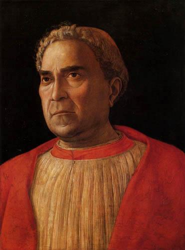 Andrea Mantegna - Der Kardinal Ludovico Mezzarota