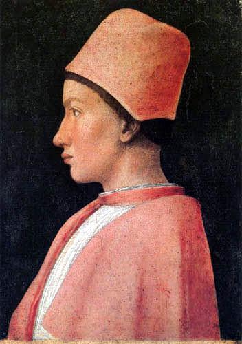 Andrea Mantegna - Bildnis Francesco Gonzaga