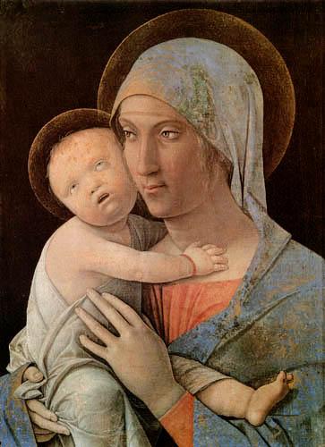Andrea Mantegna - Madonna with child