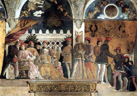 Andrea Mantegna - Family of Ludovico III. Gonzaga