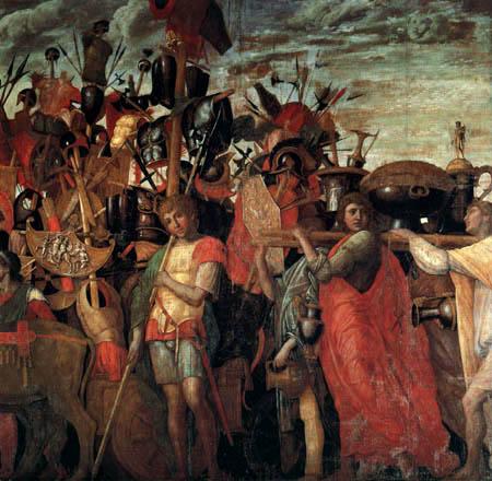 Andrea Mantegna - Militärwagen