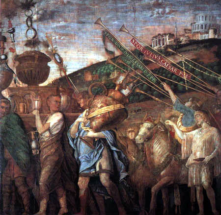 Andrea Mantegna - Loot carrier and sacrifical animals