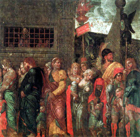 Andrea Mantegna - Gefangene und Narren