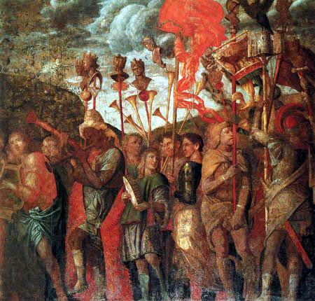 Andrea Mantegna - Musikanten