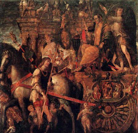 Andrea Mantegna - Triumphzug des Caesar