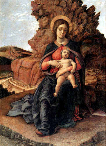 Andrea Mantegna - Madonna and Child