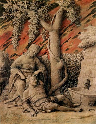Andrea Mantegna - Samson und Delilah