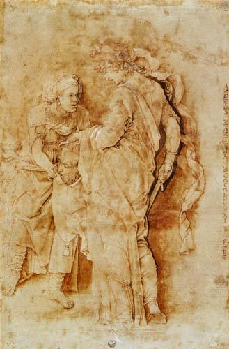 Andrea Mantegna - Judith, Skizze