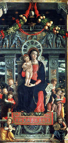 Andrea Mantegna - Madonna and Child