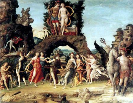 Andrea Mantegna - Mount Parnassus