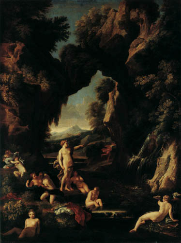 Carlo Maratta - Diana and Actaeon